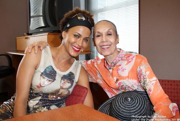 Nicole Ari Parker and Carmen de Lavallade
