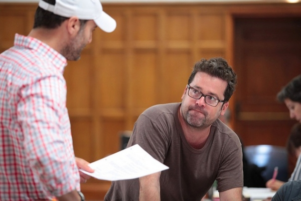 Photo Flash: In Rehearsal for Vassar Powerhouse's THE POWER OF DUFF With Greg Kinnear, Dominic Fumusa and More!