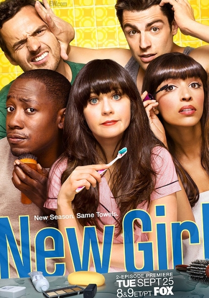 Poster Art For NEW GIRL Season 2