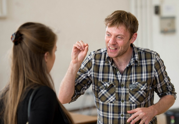 Photo Flash: In Rehearsal with Criterion Theatre's AFTER THE PARTY and TAKING PART