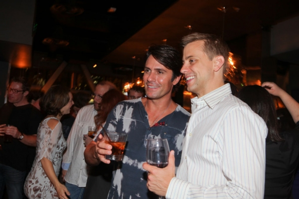 Eric Kunze and Michael D. Jablonski at More Opening Night Highlights of Music Circus' THE LITTLE MERMAID