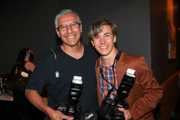 Henry Hodges and photographer Jose Villegas