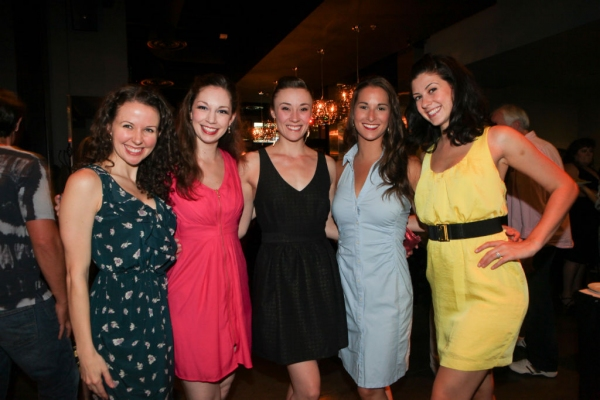 Kristen J. Smith, Lisa Rohinsky, Jenny Florkowski, Robin Masella and Alexa Glover