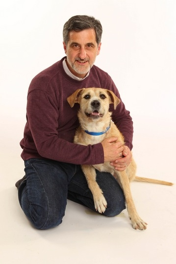 William Berloni, Sunny at Meet ANNIE's 'Sandy,' Shelter Dog Sunny!