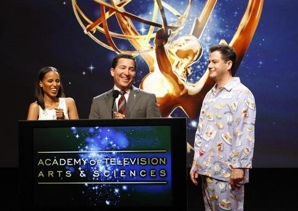 Kerry Washington, Jimmy Kimmel, Bruce Rosenblum