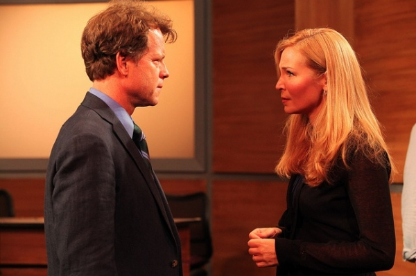 Greg Kinnear and Jennifer Westfeldt  at Greg Kinnear, Jennifer Westfeldt & More Onstage in Vassar Powerhouse's THE POWER OF DUFF!