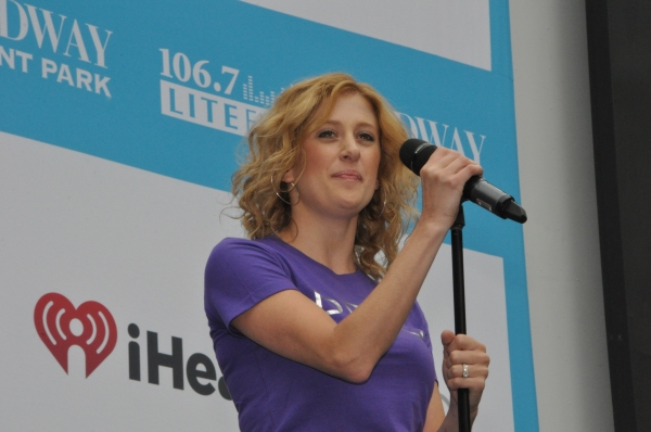 Caissie Levy at WICKED, GHOST, MEMPHIS, and More Perform at Broadway in Bryant Park!