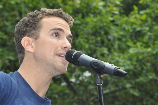 Richard Fleeshman at WICKED, GHOST, MEMPHIS, and More Perform at Broadway in Bryant Park!