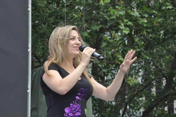 Donna Vivino at WICKED, GHOST, MEMPHIS, and More Perform at Broadway in Bryant Park!