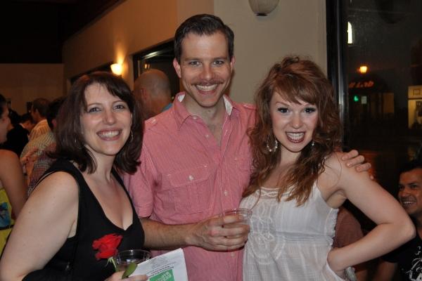 Brigitte Ditmars, Eric Lindahl, Stephanie Wohar Photo