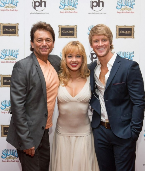 Adrian Zmed, Lauren Zakrin and Marshal Kennedy Carolan