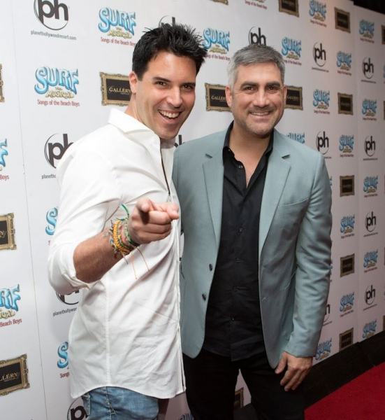 Frankie Moreno and Taylor Hicks