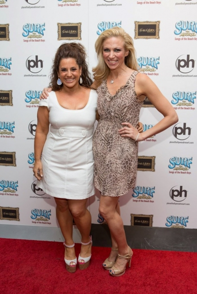 Marissa Jaret Winokur & Deborah 'Debbie' Gibson at Marissa Jaret Winokur, Debbie Gibson and More at Opening Night Red Carpet of SURF THE MUSICAL