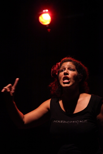 EXCLUSIVE Photo Coverage: Rain Pryor in Rehearsal for FRIED CHICKEN AND LATKES