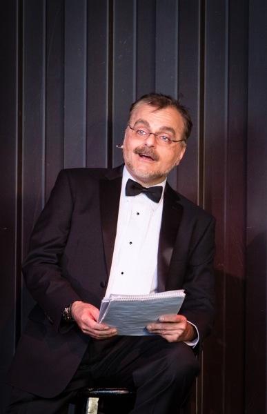 James A. Rocco as the Narrator Photo