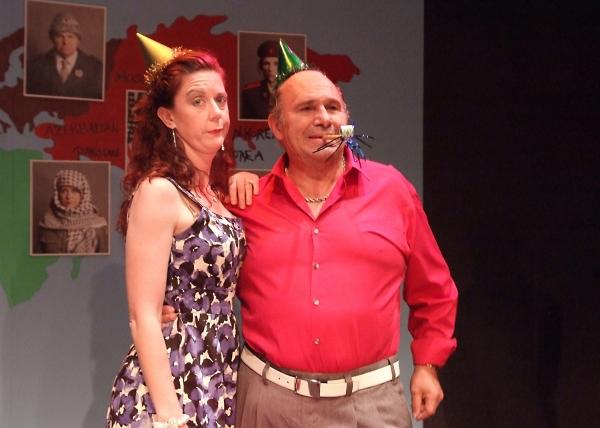 Gwendolyn Druyor and Bobby Costanzo