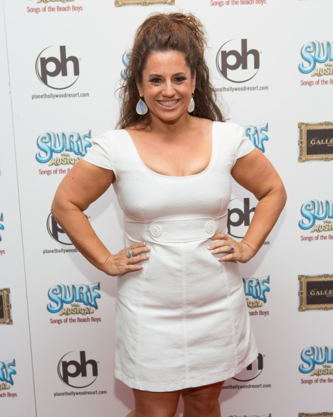 Marissa Jaret Winokur at Production Photos and More Red Carpet Shots of SURF THE MUSICAL