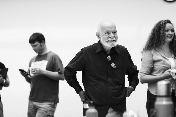 Photo Flash: Leon Addison Brown, Ritchie Coster and More Rehearse Signature Theatre's THE TRAIN DRIVER