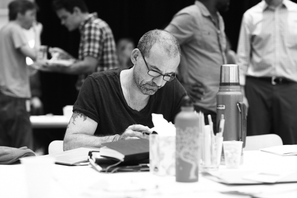 Photo Flash: Leon Addison Brown, Ritchie Coster and More Rehearse Signature Theatre's THE TRAIN DRIVER