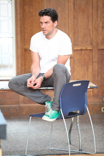 Photo Flash: Will Swenson and More in Rehearsal for Vassar Powerhouse's MURDER BALLAD
