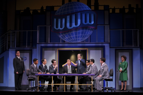 Photo Flash: Sneak Peek at Foothill Music's HOW TO SUCCEED IN BUSINESS WITHOUT REALLY TRYING, Opening Tonight