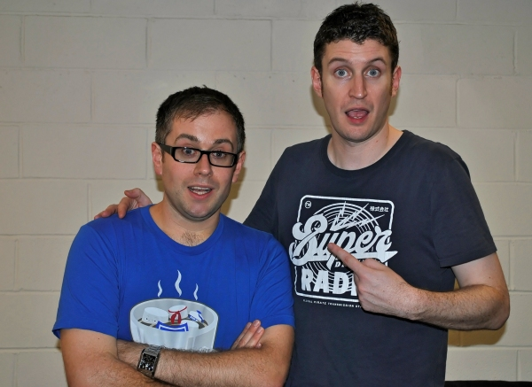 Photo Flash: POTTED POTTER's Dan and Jeff Pose for BroadwayWorld Philippines
