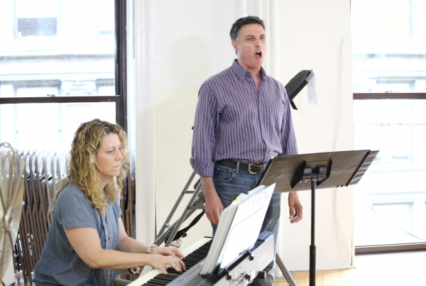 EXCLUSIVE Photo Coverage: Robert Cuccioli, Natascia Diaz and More Rehearse for CHESS