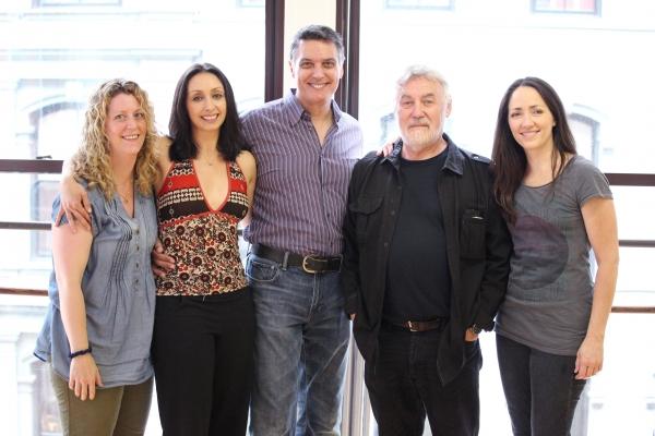 Valerie Sciarra, Natascia Diaz, Robert Cuccioli, Director Christopher Martin & Tamra  Photo