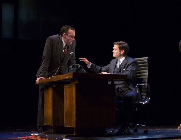 Chris Hoch and Steven Pasquale  at First Look at Kelli O'Hara, Tony Yazbeck and More in WTF's FAR FROM HEAVEN
