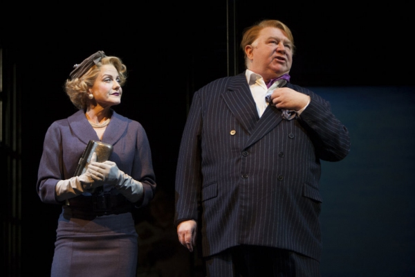 Alison Fraser and JB Adams at First Look at Kelli O'Hara, Tony Yazbeck and More in WTF's FAR FROM HEAVEN