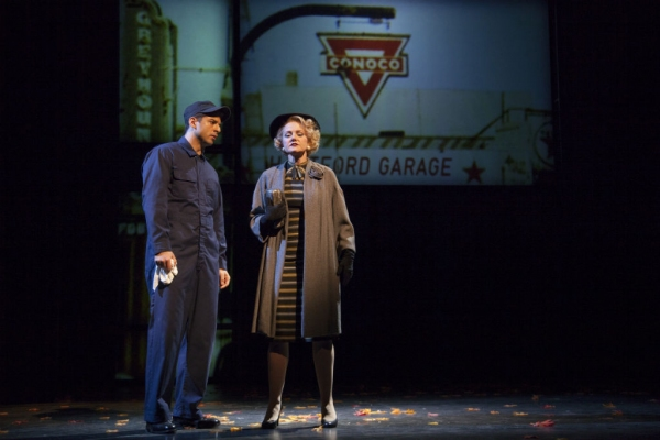 Tony Yazbeck and Alison Fraser  at First Look at Kelli O'Hara, Tony Yazbeck and More in WTF's FAR FROM HEAVEN