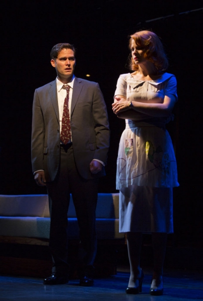 Steven Pasquale and Kelli O'Hara  at First Look at Kelli O'Hara, Tony Yazbeck and More in WTF's FAR FROM HEAVEN