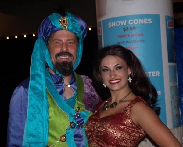 Chris Warren Gilbert and Amanda Jolley