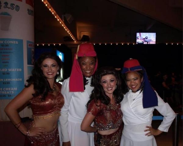 Amanda Jolley, Brooke Aston, Erica Bryce and Chyka Jackson