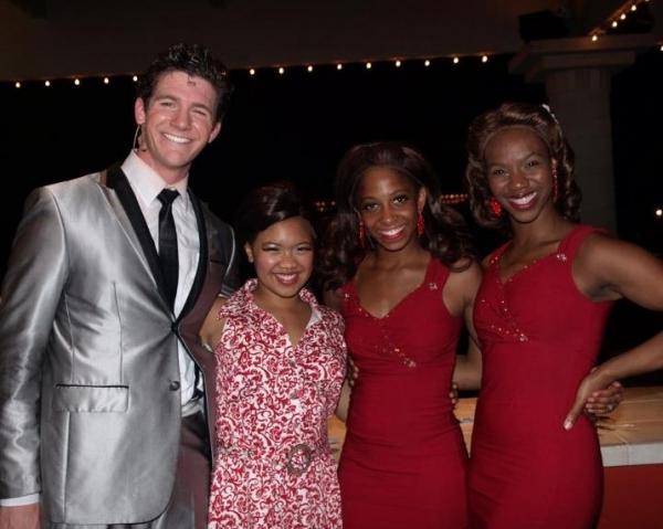 Michael Milkanin, Chyka Jackson, Nicole Javanna Johnson and Oyoyo Joi BonnerErika Ama Photo