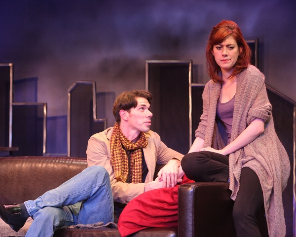 Photo Flash: First Look at Chad Deverman and Lyndsy Kail in DYING CITY