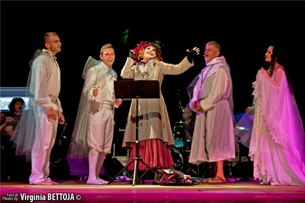 Marco Gandolfi Vannini, Cristian Ruiz, Simona Patitucci, Lello Abate, Renata Fusco