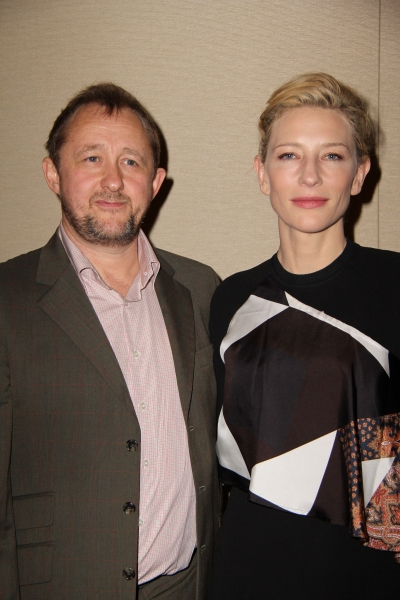 Andrew Upton and Cate Blanchett