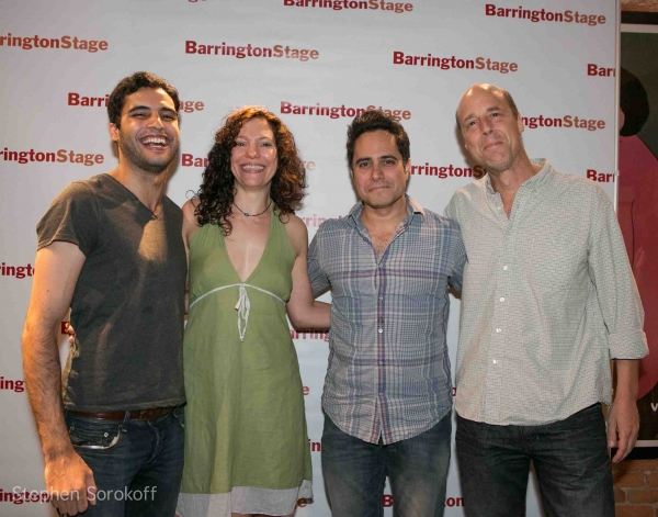 Babak Tafti, Giovanna Sardelli, Rajiv Joseph, Remi Sandri at ALL MY SONS Opens at Barrington Stage Company