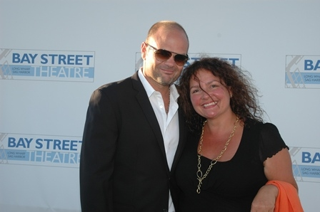 Chris Bauer and Aide Turturro