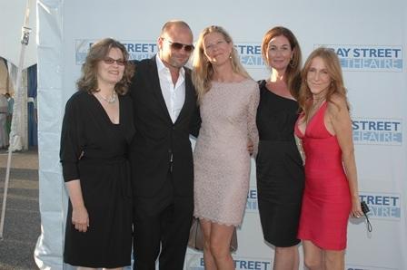 Aston Dissuno, Chris Bauer, Laura Bauer, Joanne Patrick and Christina Galesi