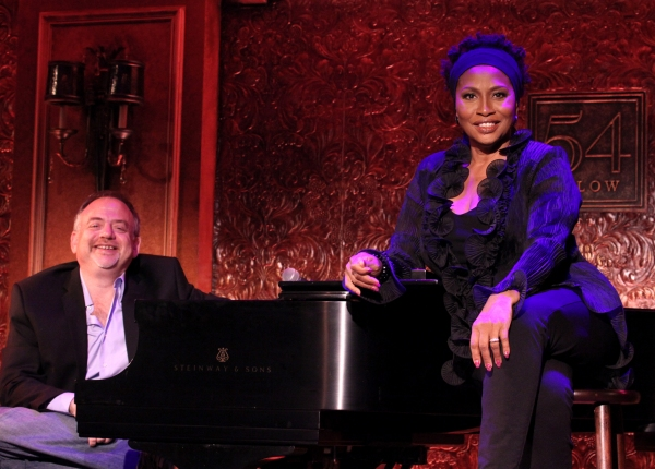 FREEZE FRAME: Jenifer Lewis & Marc Shaiman Play 54 Below!