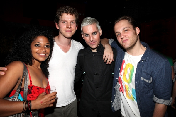 Rebecca Naomi Jones, Stark Sands, Theo Stockman & Tony Vincent