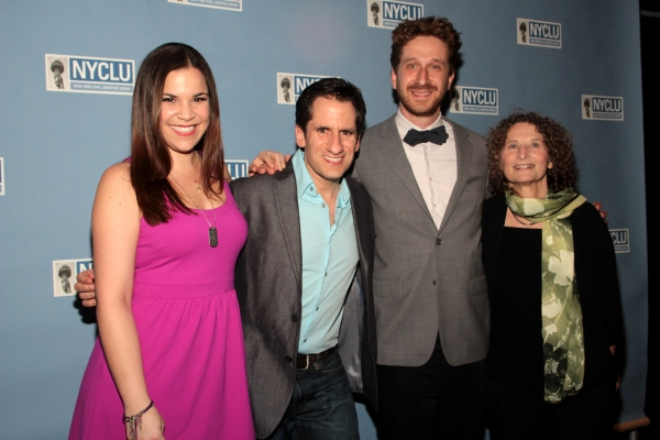 Lindsay Mendez, Seth Rudetsky, Daniel Goldstein, Donna Lieberman at Nikki Renée Daniels, Lindsay Mendez, and More at NYCLU's BROADWAY STANDS UP FOR FREEDOM Concert