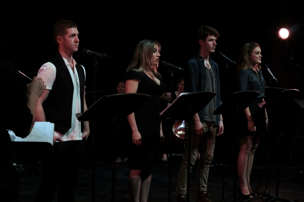 Eric Michael Krop, Donna Vivino, Blake Daniel, Maddy Trumble at Jennifer Damiano, Jessica Phillips, Eric Michael Krop, Perform at NYMF's CUTTING-EDGE COMPOSERS III