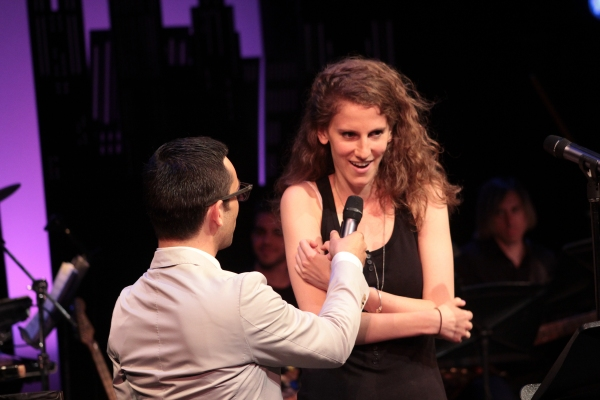 Nick Leighton, Zoe Sarnak at Jennifer Damiano, Jessica Phillips, Eric Michael Krop, Perform at NYMF's CUTTING-EDGE COMPOSERS III