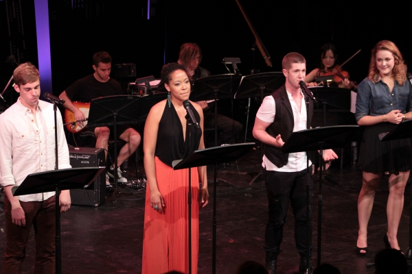 Nic Rouleau, Lilli Cooper, Erick Michael Krop, Maddy Trumble at Jennifer Damiano, Jessica Phillips, Eric Michael Krop, Perform at NYMF's CUTTING-EDGE COMPOSERS III