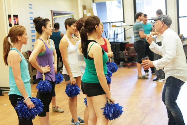 Photo Flash: Sneak Peek at Rehearsals for Broadway-Bound NUTTY PROFESSOR, Opening Tonight at TPAC