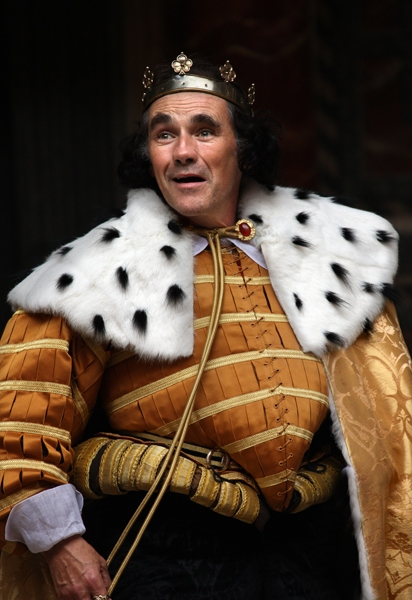 Mark Rylance at First Look at Mark Rylance and More in the Globe's RICHARD III