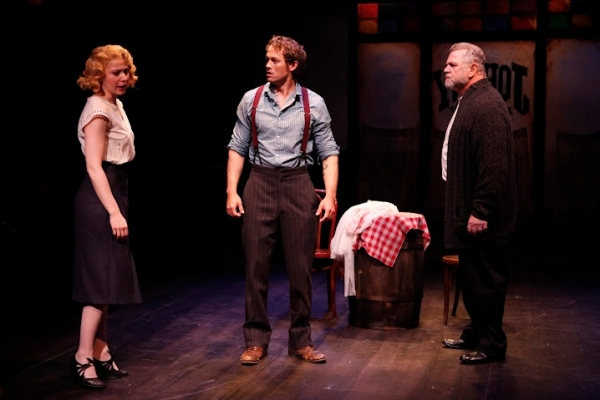 Margaret Loesser Robinson (Anna), Patrick Cummings (Matt) and Cliff Bemis (Chris Chri Photo